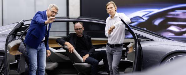 Audi Grandsphere concept - Equipe du design