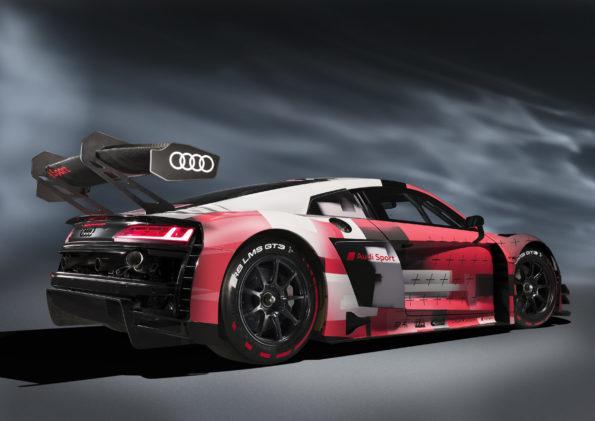 Audi R8 LMS GT3 evo II - 3/4 Arrière