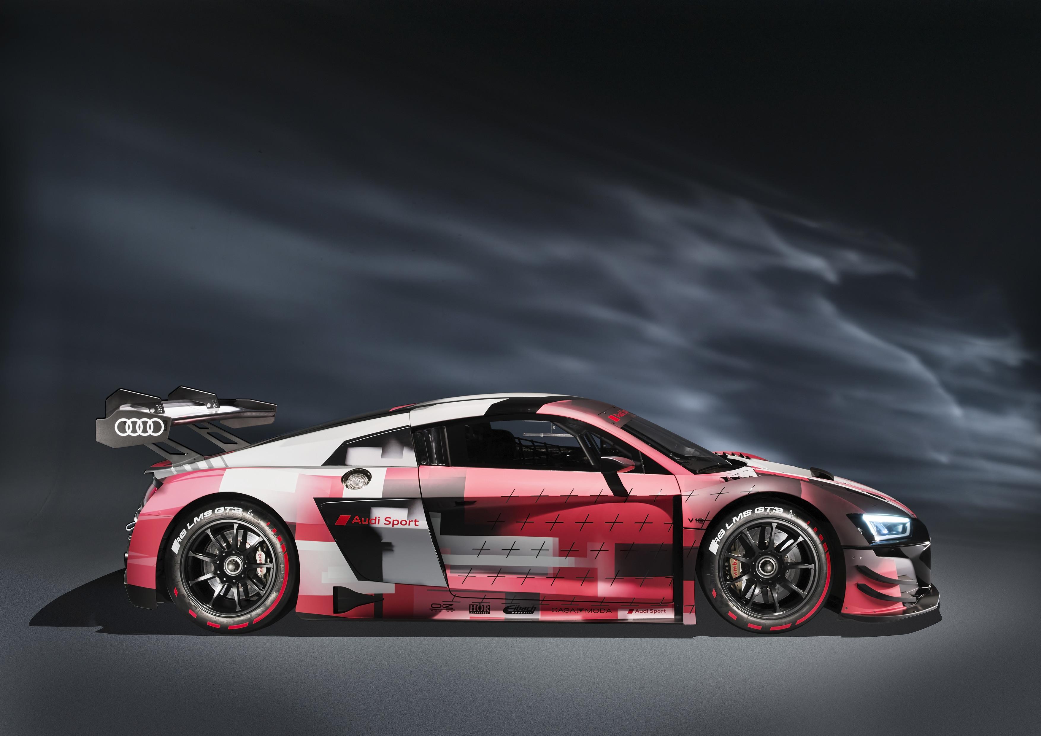 Audi R8 LMS GT3 evo II - Profil