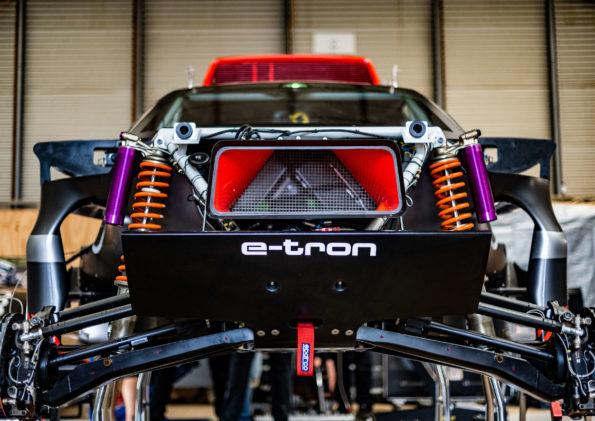 Audi RS Q e-tron - Détail mécanique