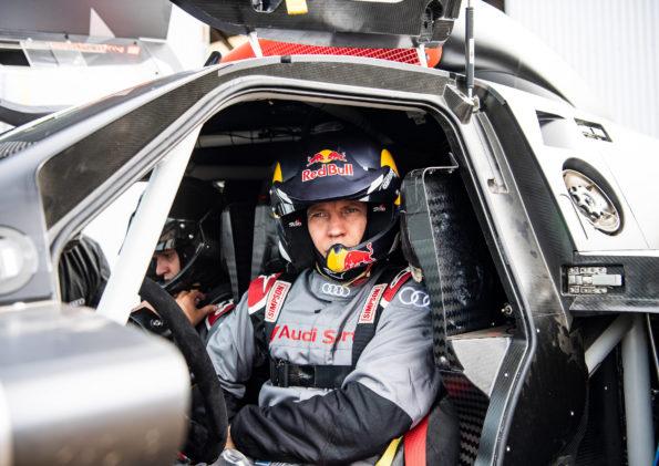 Audi RS Q e-tron - Mattias Ekström