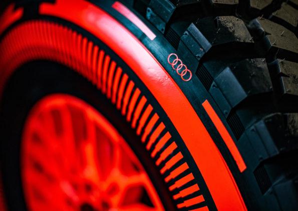 Audi RS Q e-tron - Détail pneus