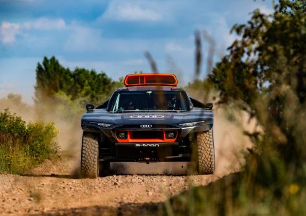 Audi RS Q e-tron - Face avant