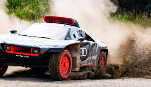 Voici l'Audi RS Q e-tron : Objectif Dakar