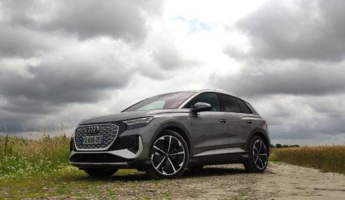Essai – Audi Q4 e-tron : évolution naturelle