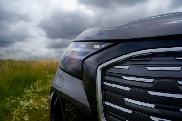 Audi Q4 50 e-tron quattro - Détail