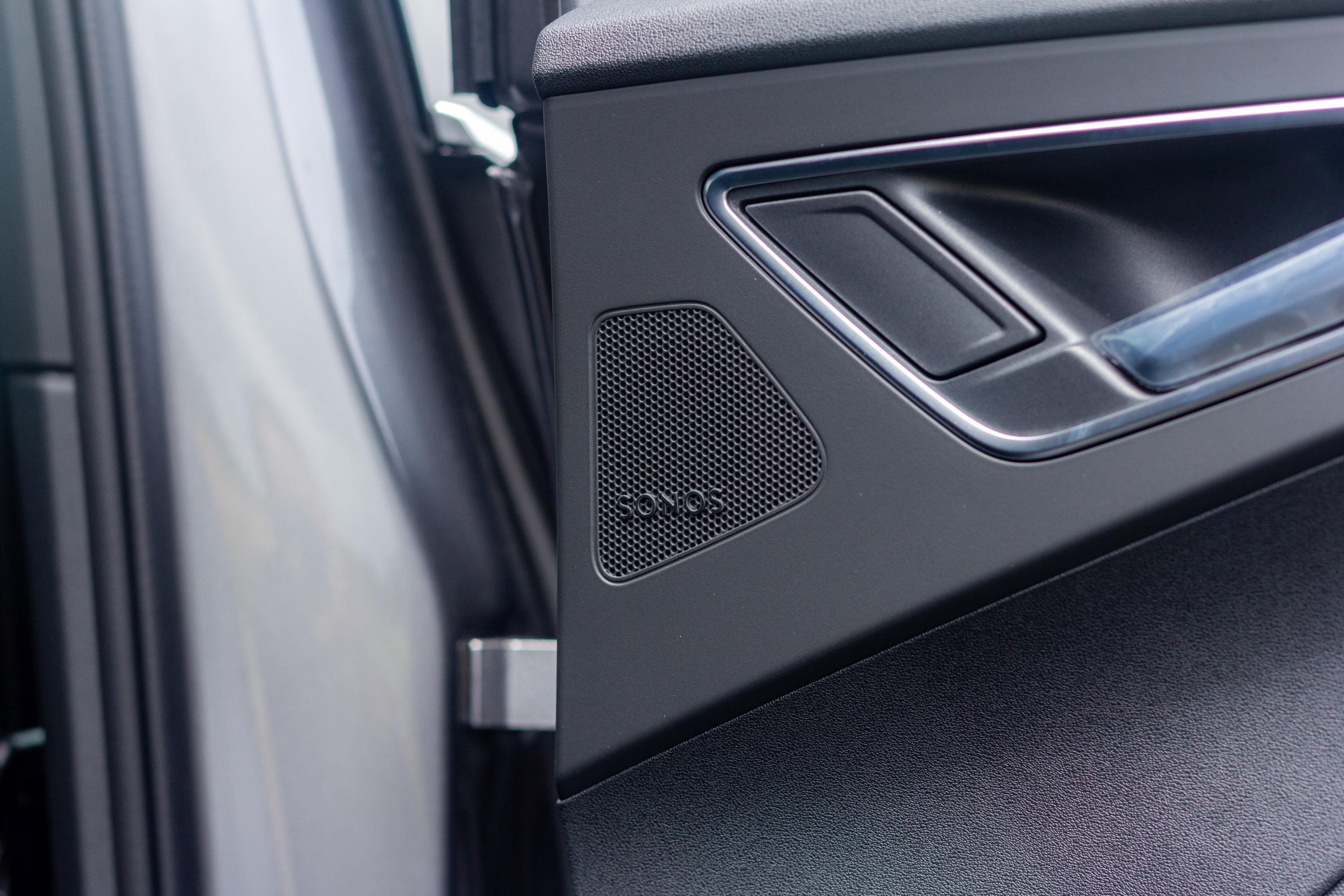 Audi Q4 e-tron - Détail enceinte Sonos