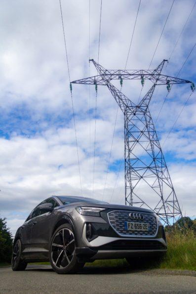 Audi Q4 50 e-tron quattro - 3/4 Avant