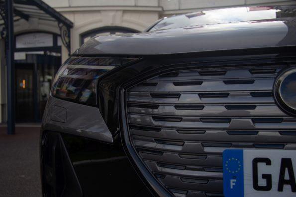 Audi Q4 50 e-tron quattro - Détail calandre
