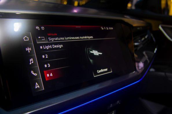 Audi Q4 e-tron - Signature lumineuse numérique