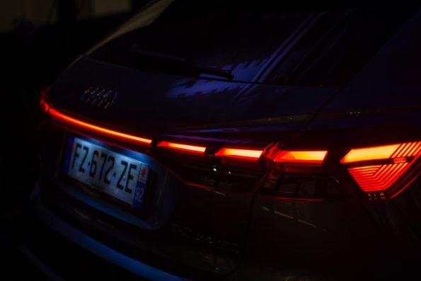 Audi Q4 e-tron - Signature lumineuse arrière