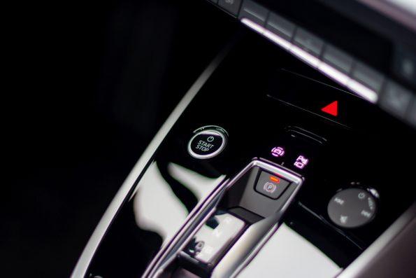 Audi Q4 40 e-tron - Détail console centrale