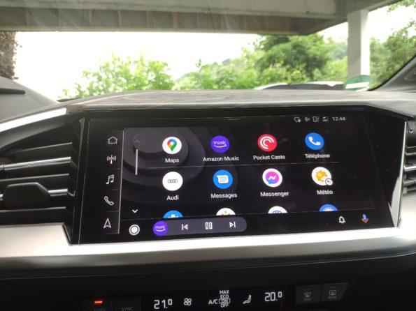 Audi Q4 40 e-tron - Ecran MMI Touch