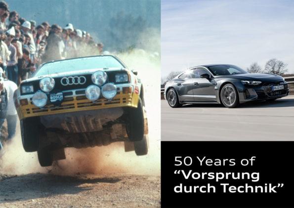50 ans Vorsprung durch Technik