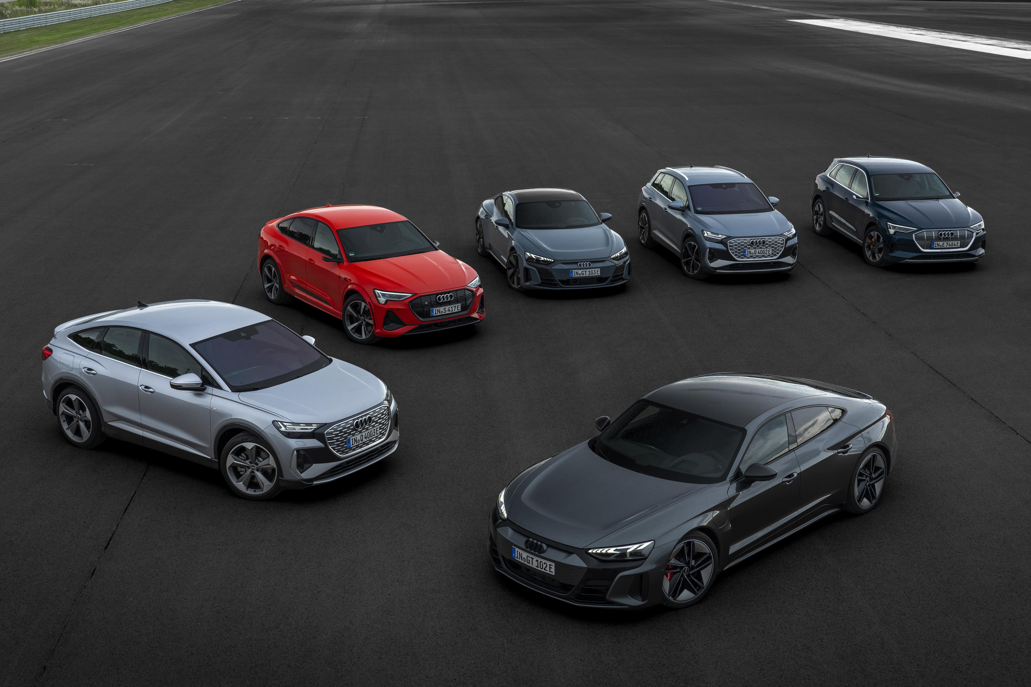 Gamme Audi e-tron