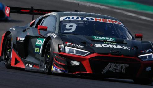 Audi creuse son avance au DTM