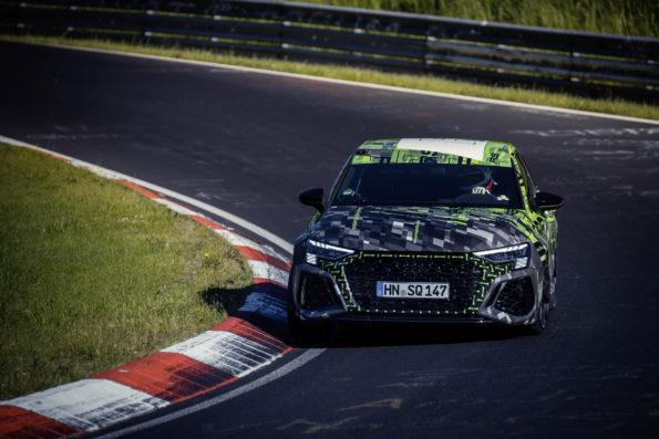 Audi RS 3 Record Nürburgring Nordschleife