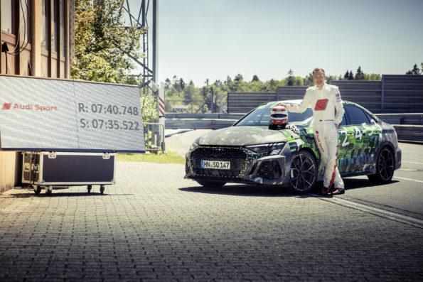 Audi RS 3 Record Nürburgring Nordschleife - Frank Stippler