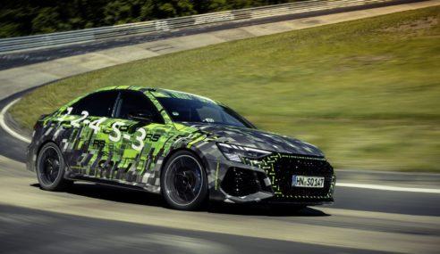 La nouvelle Audi RS 3 claque son record au Nürburgring