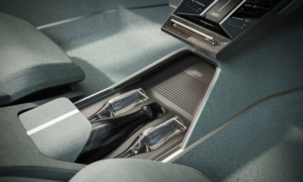Audi skysphere concept - Détail interieur