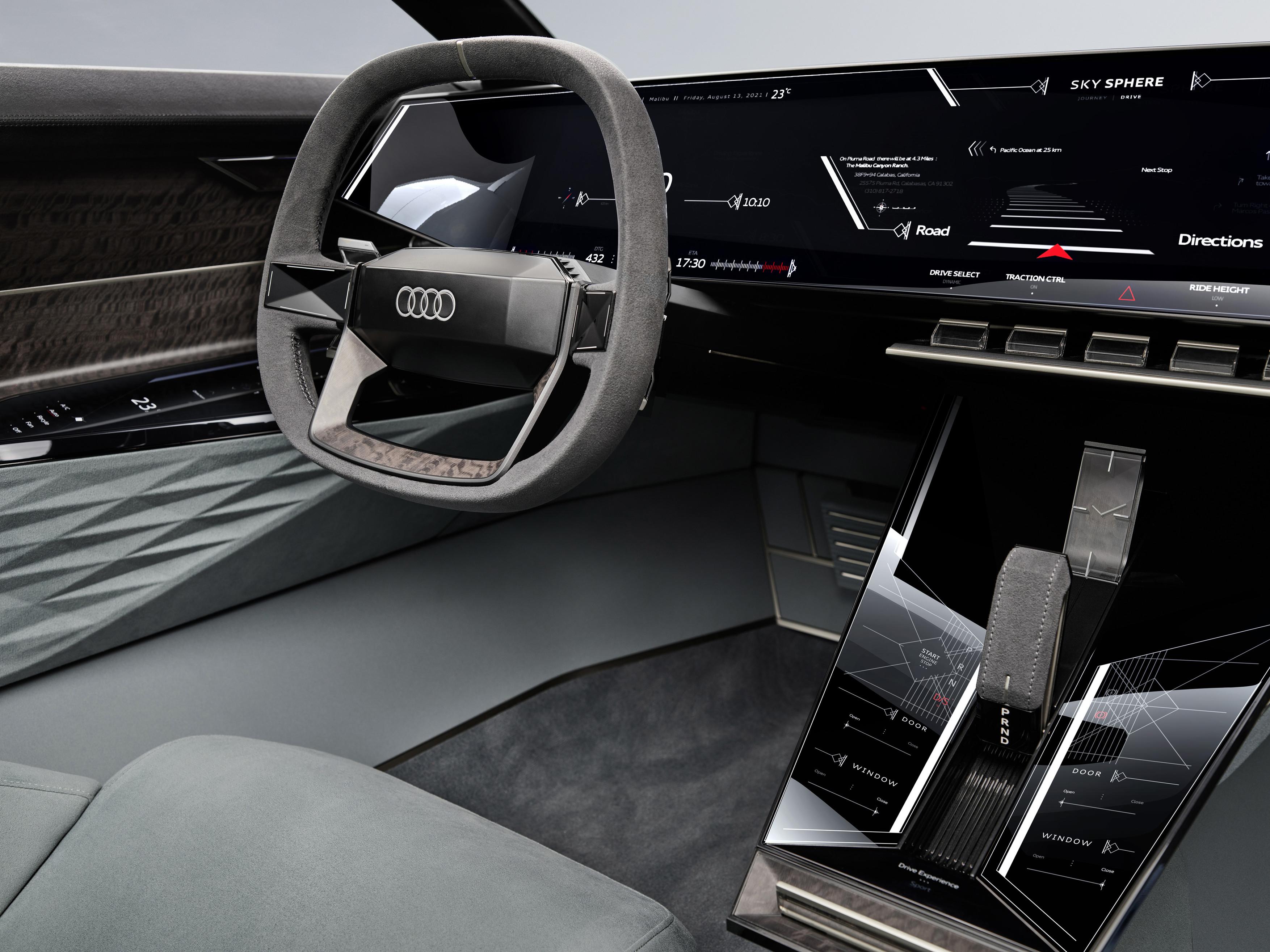 Audi skysphere concept - Cockpit