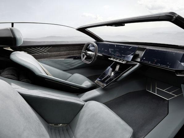 Audi skysphere concept - Habitacle