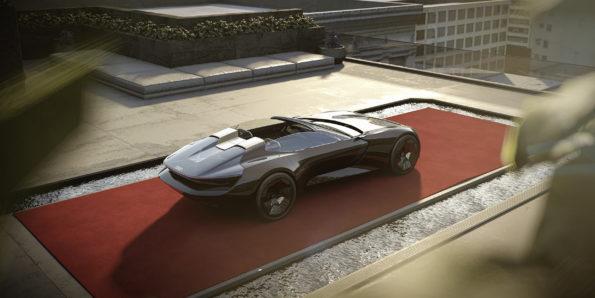 Audi skysphere concept - Vue de 3/4