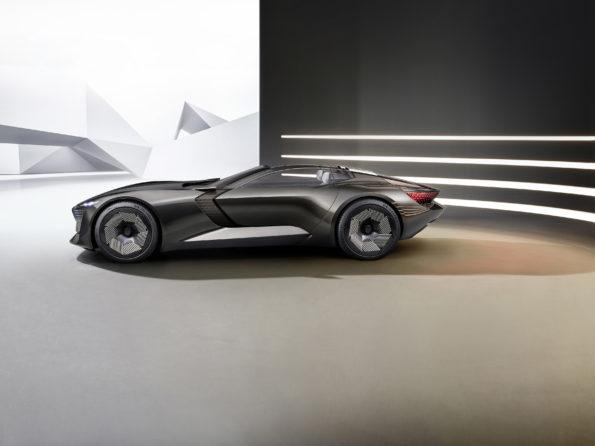 Audi skysphere concept - Profil