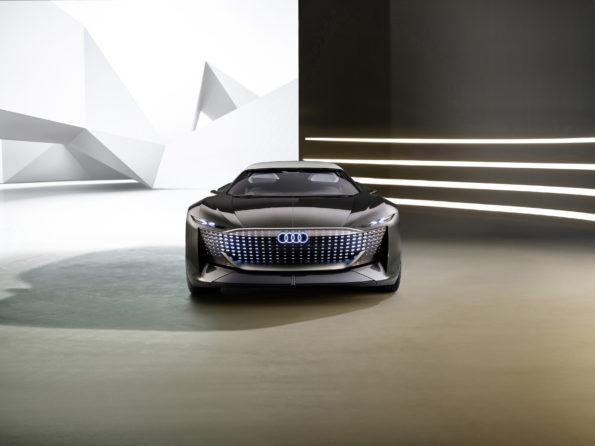Audi skysphere concept - Face Avant