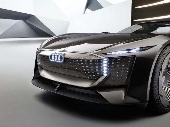Audi skysphere concept - Détail calandre