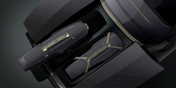 Audi skysphere concept - Croquis