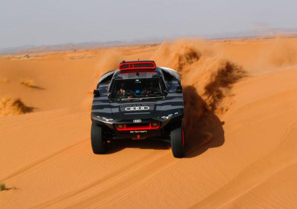 Audi RS Q e-tron - Essais au Maroc