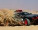 L'Audi RS Q e-tron dans le désert Marocain