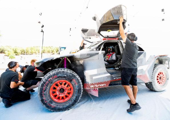 Carlos Sainz, Audi RS Q e-tron