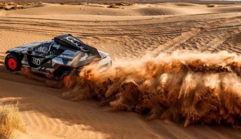 Rallye Dakar : J-100 pour Audi Sport