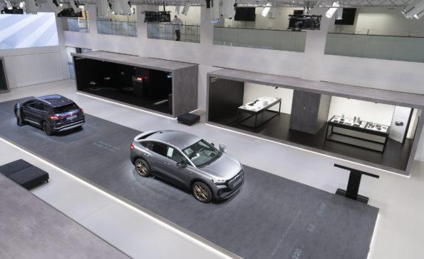 Exposition Audi au DRIVE. Volkswagen Group Forum