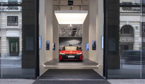 La technologie Audi s'expose à Berlin