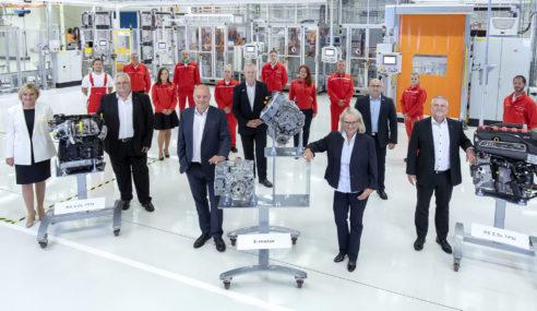 L'usine Hongroise de Györ a produit 40 millions de moteurs