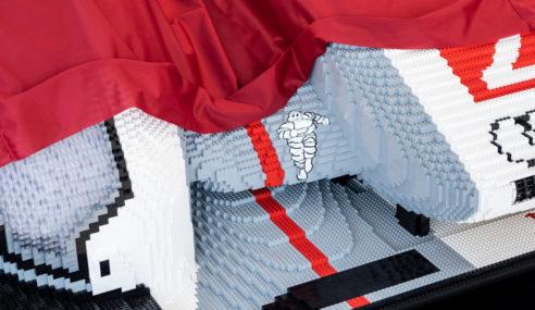 Une Audi R18 e-tron quattro en Lego !