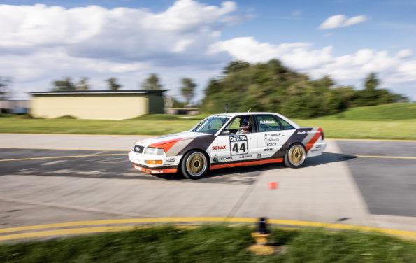 Ken Block, Audi V8 quattro (DTM)