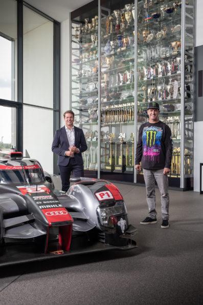 Julius Seebach, Ken Block, Audi R18 e-tron quattro
