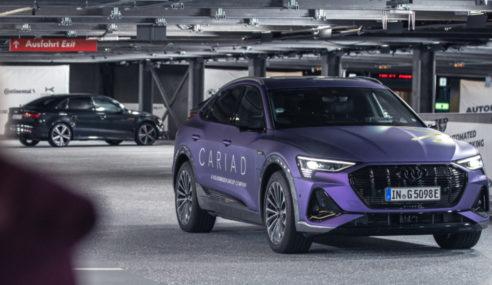 Audi fait tester son stationnement autonome