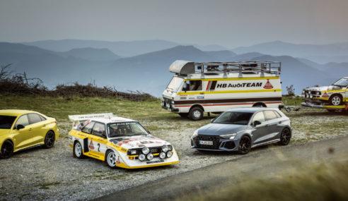L'histoire du 5 cylindres chez Audi
