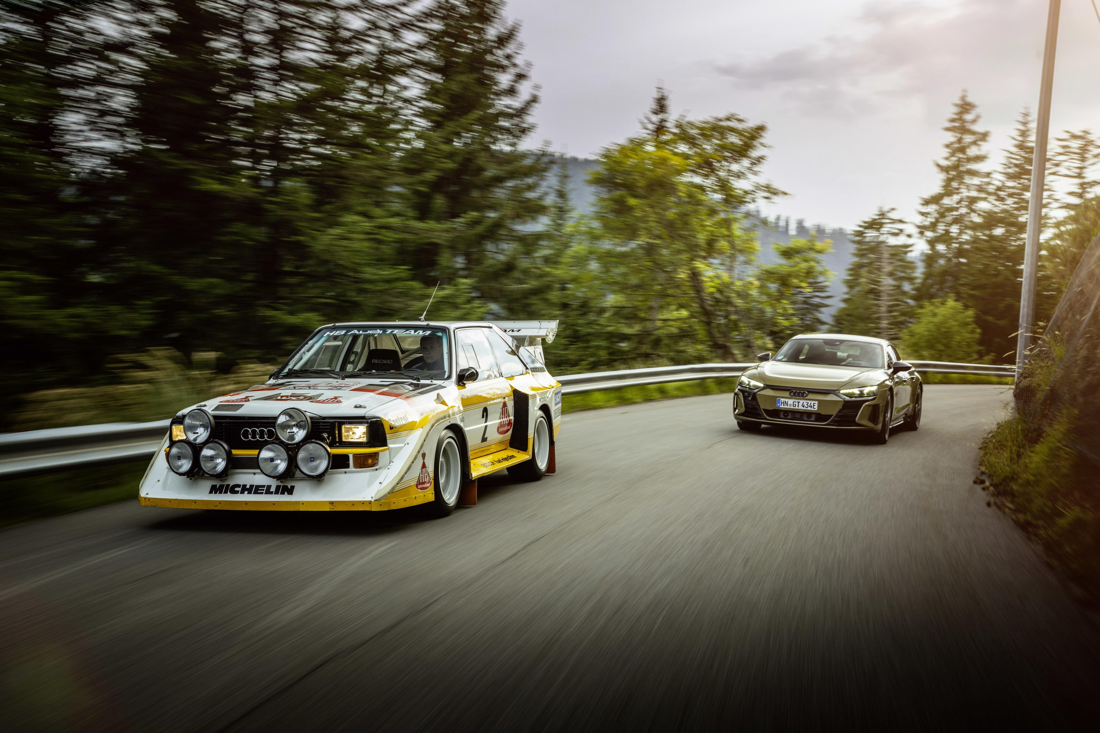 Audi RS e-tron GT & Audi Sport quattro