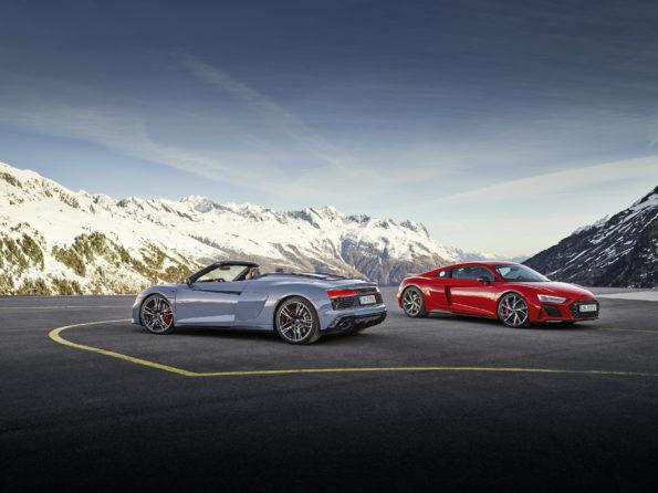 Audi R8 Coupé V10 performance RWD / Audi R8 Spyder V10 performance